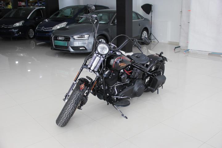 Harley Davidson FLSTSB Softail Cross Bones Dark